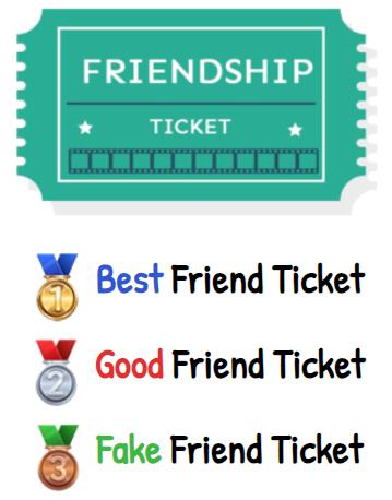 🎫 Friendship Ticket Dare